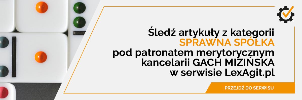 sprawna spółka - LexAgit.pl